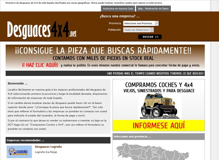 desguaces4x4.net